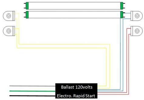 fluorescent light slimline wiring diagram 41 wiring