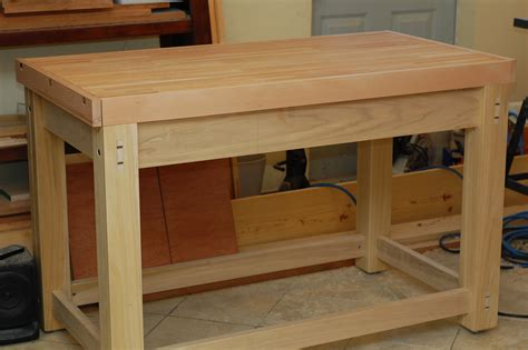 how to make a wooden work bench image gallery wooden workbench