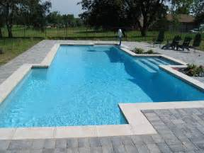 in ground pools inground pool designs casual cottage