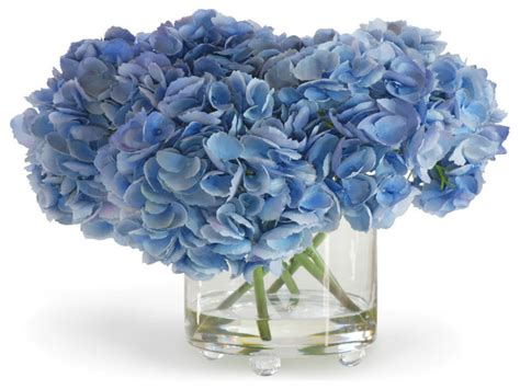 blue hydrangea flower arrangements blue silk flower arrangements blue hydrangea blue