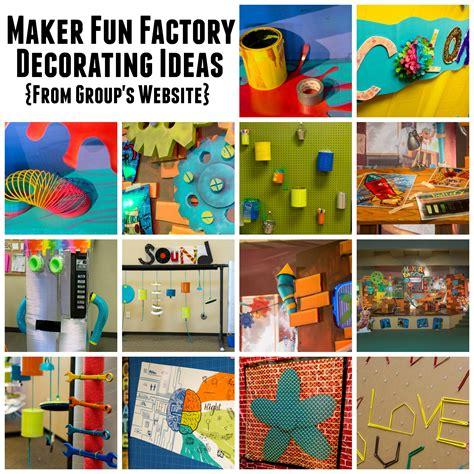 fun decor ideas group publishing vbs 2017 maker fun factory decorating