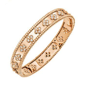 Van Cleef & Arpels Perlée Bangle Bracelet   Betteridge