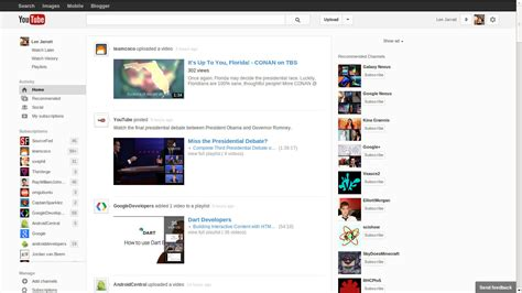 new layout in youtube image gallery new youtube