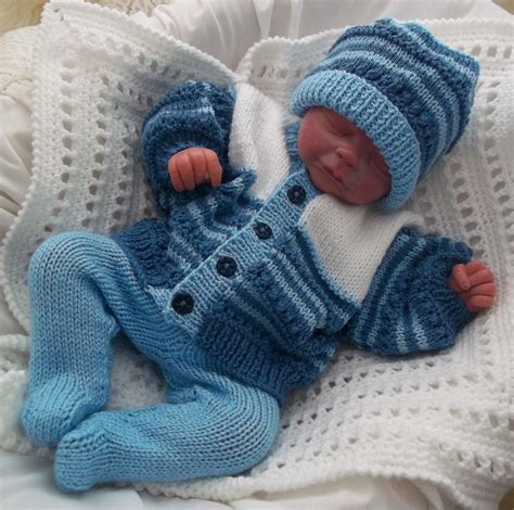 knitted baby boy hat patterns dk baby knitting pattern baby boys or reborn doll