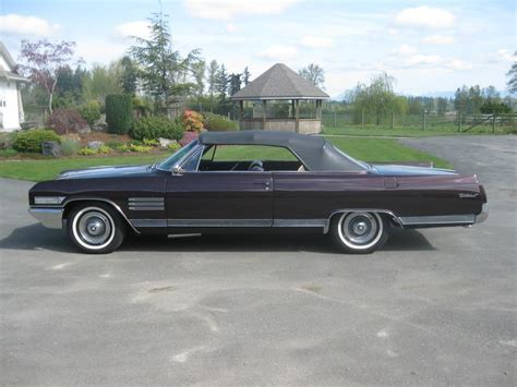 1964 buick wildcat convertible outside
