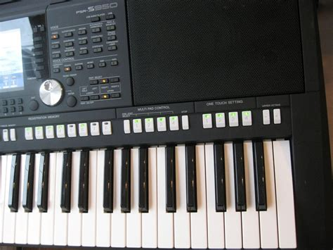 Keyboard Yamaha Psr S750 Second test yamaha s750 s950 entertainer keyboard amazona de