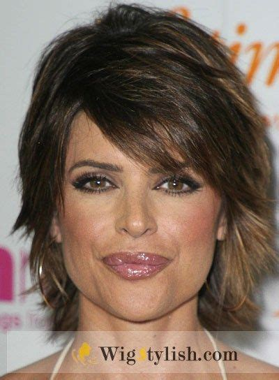 lisa rinna hairstyle wigs pin by danielle cofezer on human hair wigs pinterest