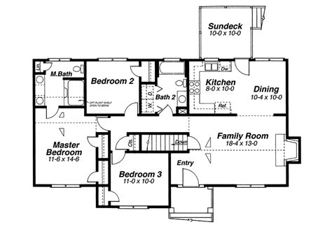 Raised Homes Floor Plans | raised ranch house plans h shaped raised ranch house plans