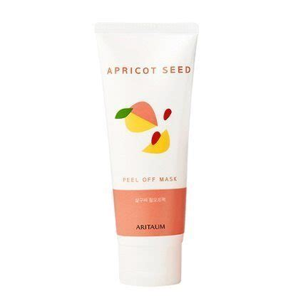 How To Detox The After Taking Apricot Seeds by Aritaum Apricot Seed Cleansing Peel Mask Korean