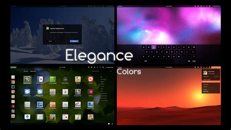 gnome reset themes elegance colors a cool chameleonic gnome shell theme