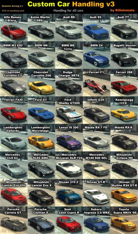 handling rd21 custom car v3 187 gta 4 187 mods generiche 187 gta