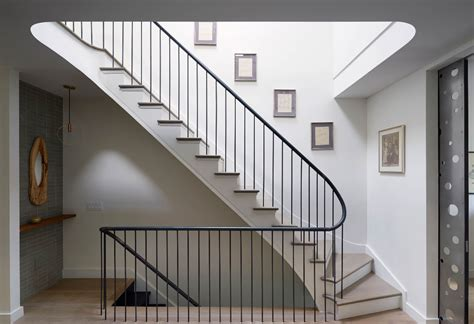 Townhouse Stairs Design Etelamaki Architecture Minimalist Prospect Heights Townhouse Is Warm And Inviting 6sqft