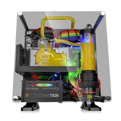 Thermaltake P1 Tg Mini Itx Wallmount Chassis thermaltake p1 tg mini itx wall mount chassis at mighty ape nz