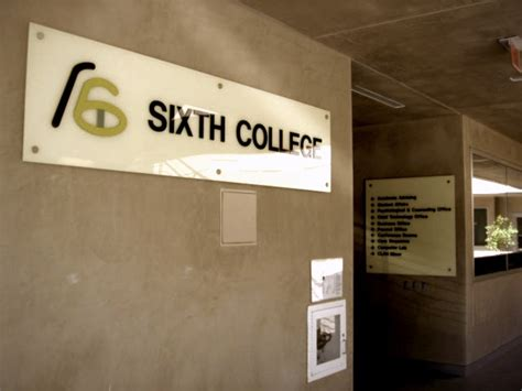 sixth college advising academic success