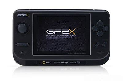 gamepark console gp2x f100 portable gaming and media device review by