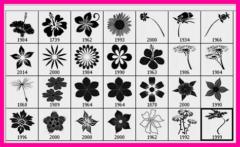 flower pattern brushes photoshop 28 high resolution flower brushes for photoshop