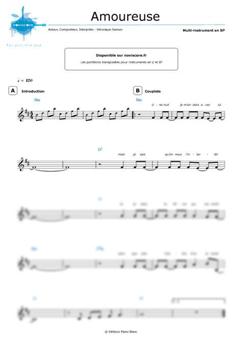 tutorial piano veronique sanson partition piano veronique sanson