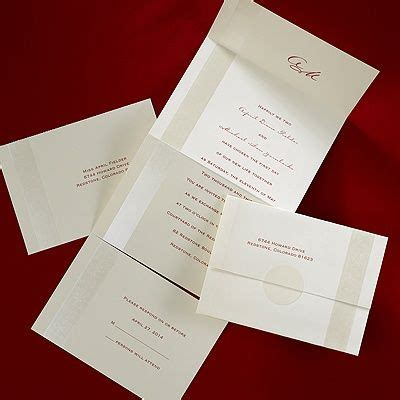 free seal and send wedding invitation templates refined pearl seal n send invitation wedding