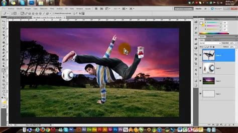 rain tutorial photoshop cs5 hacer recorte en photoshop cs5 tutorial montaje youtube