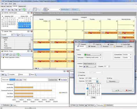 Calendar Management Project Management Calendar