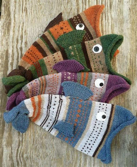 free fish knitting patterns 17 best ideas about knitted hats on