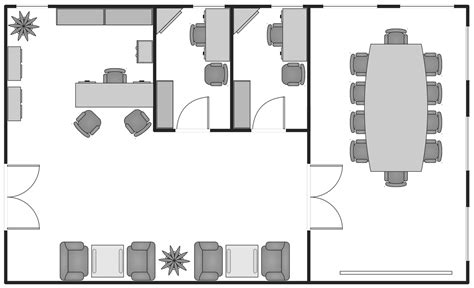 basic floor plan basic floor plans solution conceptdraw com