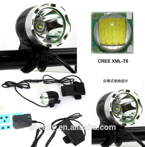 Lu Led Xml T6 wholesale high quality cree q5 led headl and cree t6 led headl black aluminium cree xml t6