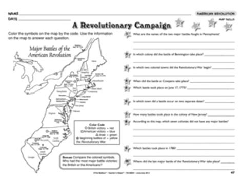 American Revolution Worksheets For by Results For American Revolution Worksheets Guest The