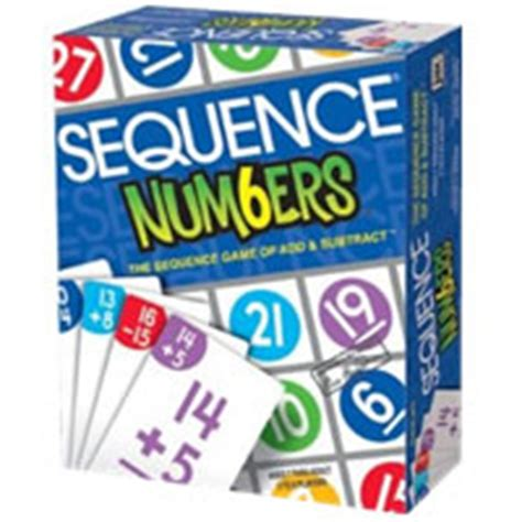 Sequence Number On Gift Card - board games for kids that teach important math skills