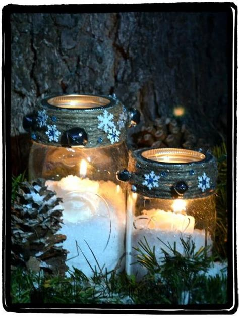 diy snowy mason jars 160 diy jar crafts and gift ideas page 14 of 17 diy crafts