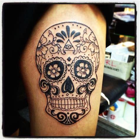 sugar skull tattoo for men 138 cool sugar skull tattoos