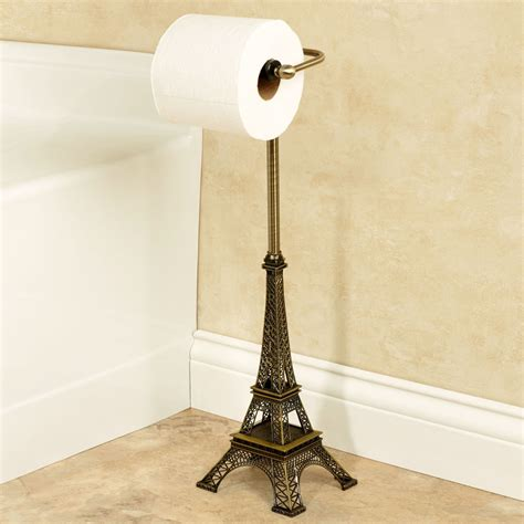 bathroom tissue holder stand paris eiffel tower toilet tissue holder stand