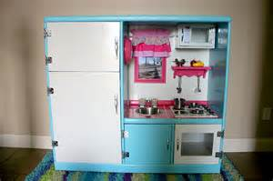 project play kitchen diy plans using a used entertainment