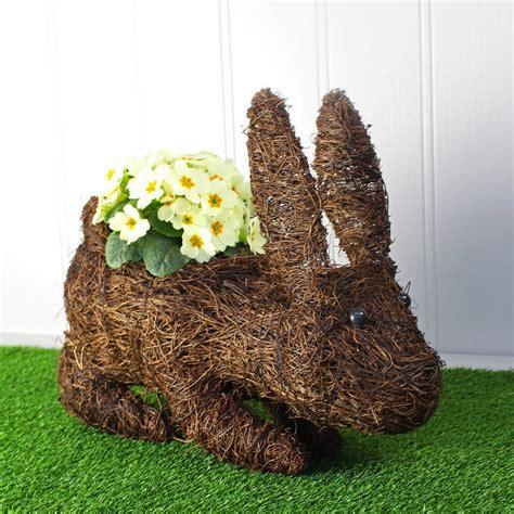 Rabbit Planter by Rabbit Planter By Marquis Dawe Notonthehighstreet