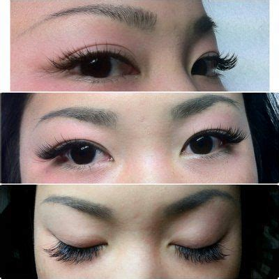 eye lash extension for old asian women hooded eyes picmia