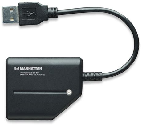 Expresscard Usb Adapter manhattan products hi speed usb to expresscard 34 adapter 179188