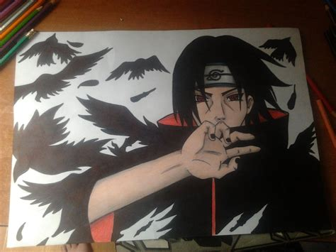 uchiha itachi 1 by reetab on deviantart
