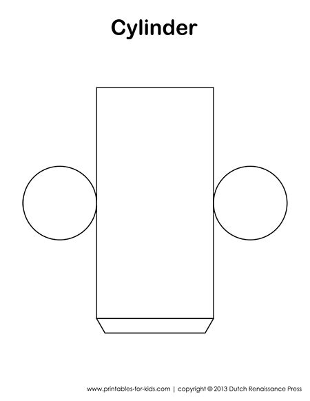 cylinder template cylinder template also has templates to other 3d figures