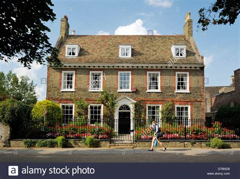 houses to buy in ely a fine english brick town house on palace green close to west door of stock photo royalty free