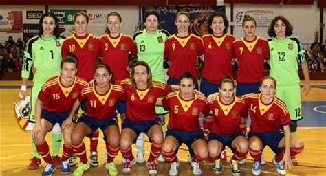 futbol sala femenino espa a espa 241 a portugal el martes en almendralejo radio