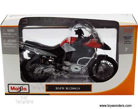 Maisto Real Motor Cycle 03 66 bmw r1200gs motorcycle by maisto 1 12 scale diecast model car wholesale 31157