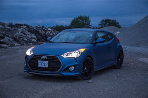 hyundai veloster turbo blacked review 2016 hyundai veloster turbo rally edition