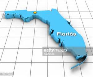 capital of florida map florida state map 3d stock photo getty images