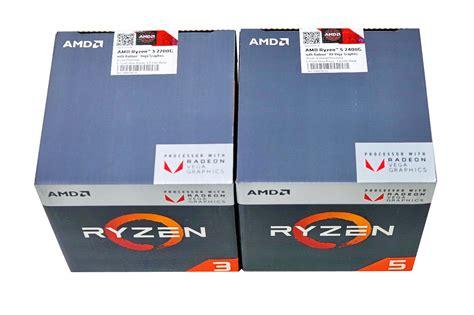 Amd Ridge Ryzen 3 2200g 3 7ghz 4c4t Apu 處理器 amd ryzen 5 2400g amd ryzen 3 2200g測試及性價比探討 滄者極限