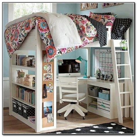 Kid Loft Bed With Desk Loft Beds With Desk For The Home