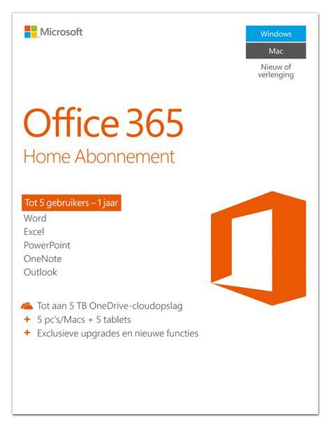 Office 365 For Office 365 Vergelijken Met Office 2016