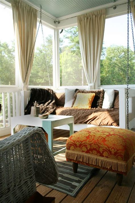 screened porch curtains porches curtains and back porches on pinterest