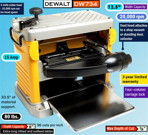 dewalt bench planer best benchtop planer which thickness planer is right for