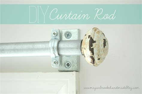 how to make your own curtain rod diy curtain rod how to make your own megan brooke handmade