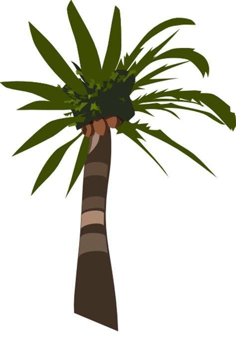 Daun Paya Black 1 palm tree vector clip at clker vector clip